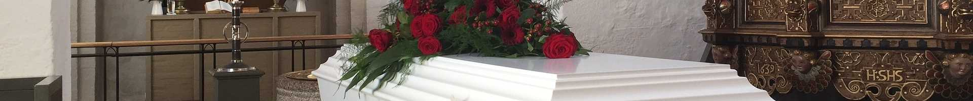Casket with Roses